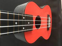 ukulele red